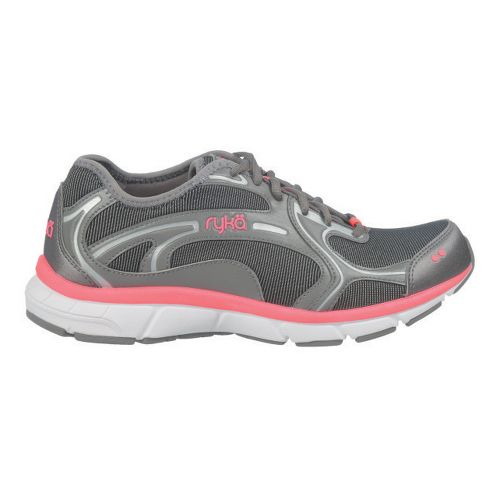 Womens Ryka Prodigy 2 Stretch Running Shoe - Black/Steel Grey 8