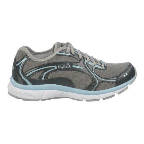 Womens Ryka Prodigy 2 Stretch Running Shoe - Black/Sterling Blue 10.5