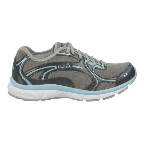 Womens Ryka Prodigy 2 Stretch Running Shoe - Black/Sterling Blue 9
