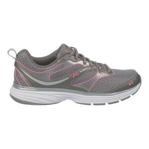 Womens Ryka Illusion 2 Running Shoe - Metallic Steel Grey/Chrome Silver 10.5