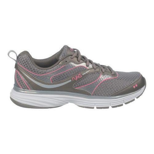 Womens Ryka Illusion 2 Running Shoe - Metallic Steel Grey/Chrome Silver 9.5