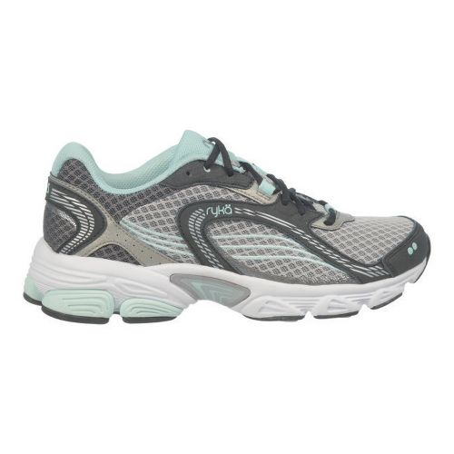 Womens Ryka Ultimate Running Shoe - Black/Forge Grey 10