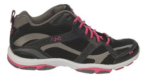 Womens Ryka Enhance 2 Running Shoe - Black/Zumba Pink 10.5