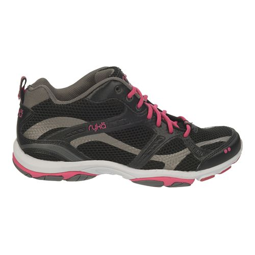 Womens Ryka Enhance 2 Running Shoe - Black/Zumba Pink 7