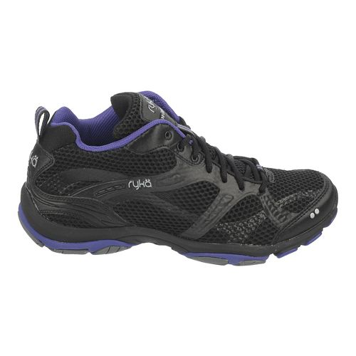 Womens Ryka Enhance 2 Running Shoe - Black/Purple 5.5