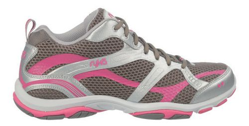 Womens Ryka Enhance 2 Running Shoe - Metallic Steel Grey/Chrome Silver 9