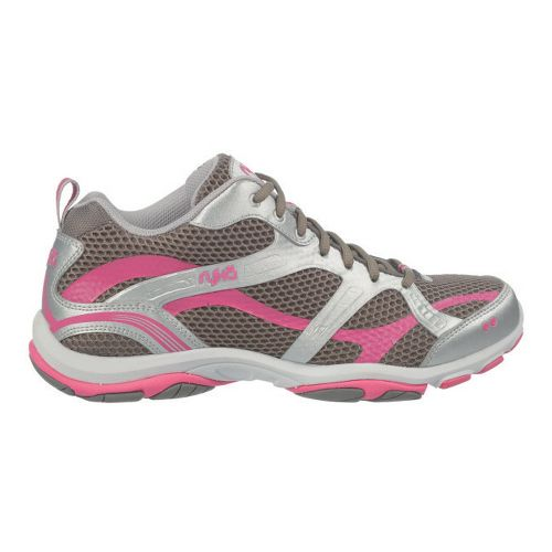 Womens Ryka Enhance 2 Running Shoe - Metallic Steel Grey/Chrome Silver 5
