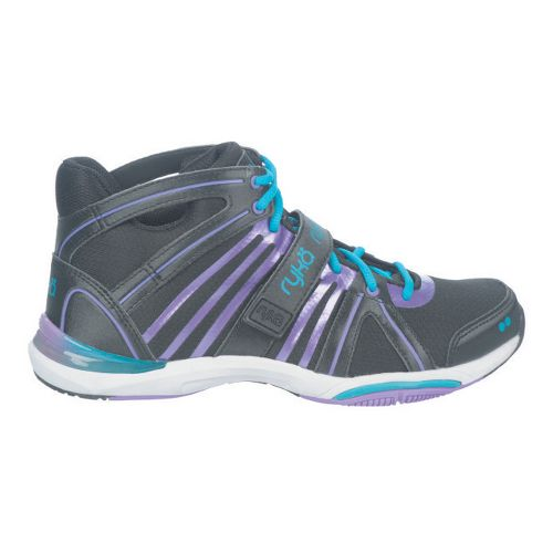 Womens Ryka Tenacity Cross Training Shoe - Black/Deep Lilac 5