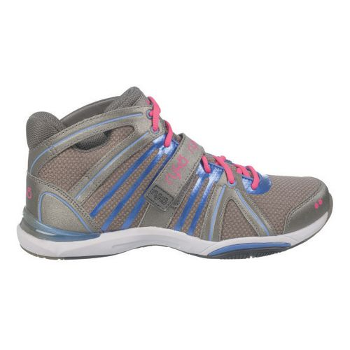 Womens Ryka Tenacity Cross Training Shoe - Metallic Steel Grey/Purple Iris 8