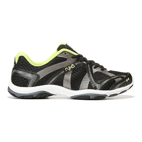 Womens Ryka Influence Cross Training Shoe - Black/Sharp Green 6.5