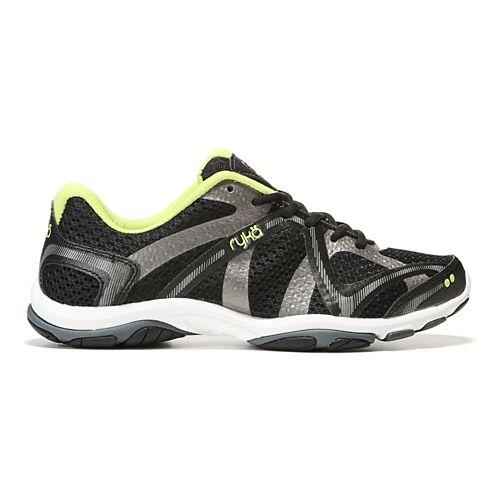 Womens Ryka Influence Cross Training Shoe - Black/Sharp Green 7.5