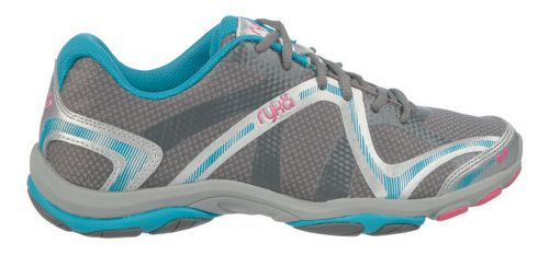 Womens Ryka Influence Cross Training Shoe - Steel Grey/Chrome Silver 8