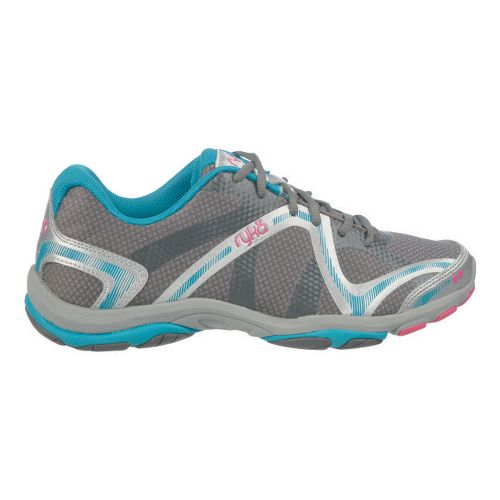 Womens Ryka Influence Cross Training Shoe - White/Aqua Sky 7.5