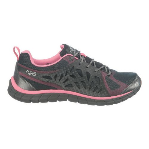 Womens Ryka Precision Cross Training Shoe - Black/Pink Lemonade 8