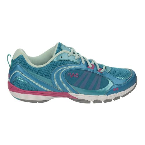 Womens Ryka Flextra Cross Training Shoe - Enamel Blue/Teal 11