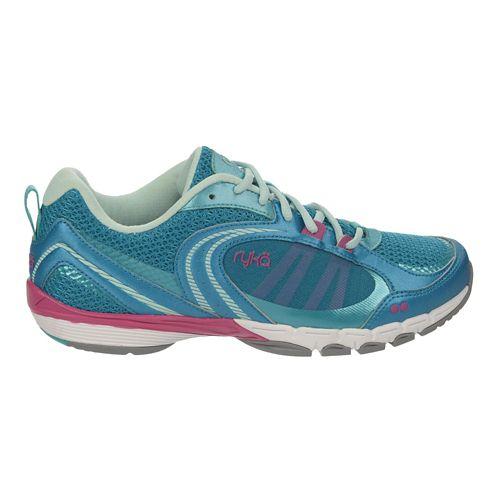Womens Ryka Flextra Cross Training Shoe - Enamel Blue/Teal 6