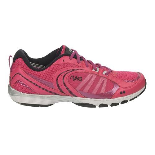 Womens Ryka Flextra Cross Training Shoe - Ryka Pink/Black 8.5