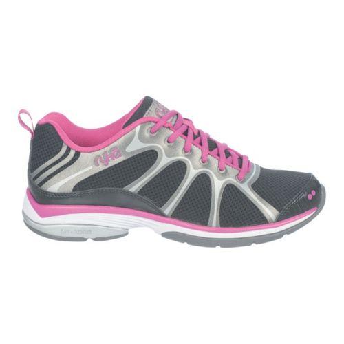 Womens Ryka Intensity 2 Cross Training Shoe - Black/Deep Lilac 10.5