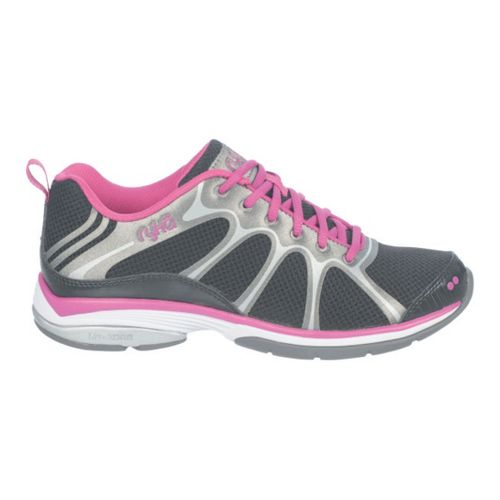 Womens Ryka Intensity 2 Cross Training Shoe - Black/Deep Lilac 5