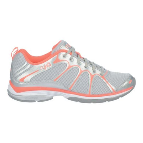 Womens Ryka Intensity 2 Cross Training Shoe - Cool Mist Grey/Chrome Silver 9.5