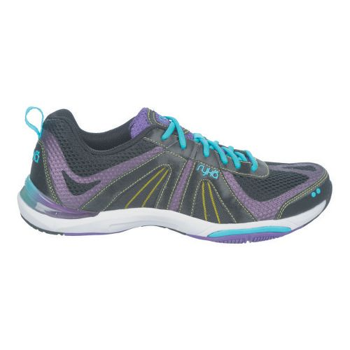 Womens Ryka Moxie Cross Training Shoe - Black/Blast Purple 10