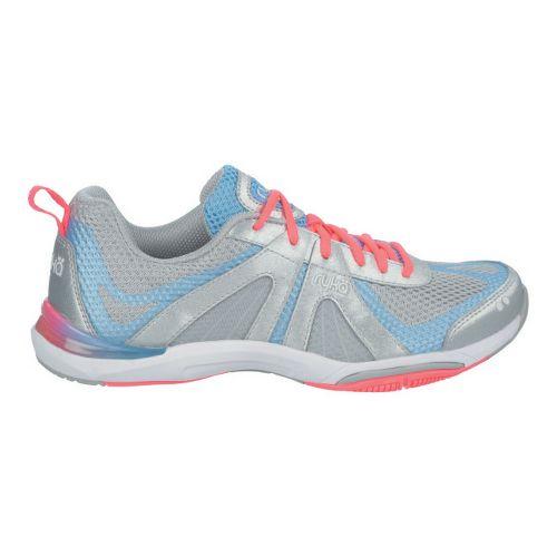 Womens Ryka Moxie Cross Training Shoe - Chrome Silver/Elite Blue 5.5