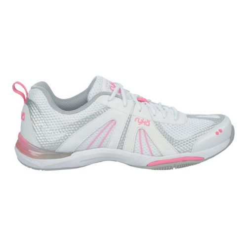 Womens Ryka Moxie Cross Training Shoe - White/Hot Pink 10