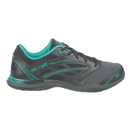 Womens Ryka Endure Cross Training Shoe - Black/Spectra Green 8