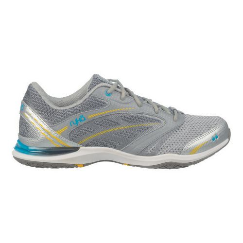 Womens Ryka Endure Cross Training Shoe - Chrome Silver/Frost Grey 8.5