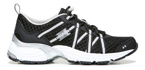 Womens Ryka Hydro Sport Running Shoe - Black/Silver 10.5