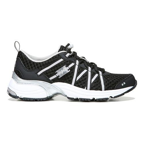 Womens Ryka Hydro Sport Running Shoe - Black/Silver 8