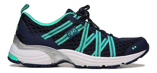 Womens Ryka Hydro Sport Running Shoe - Dark Blue/Teal 8.5