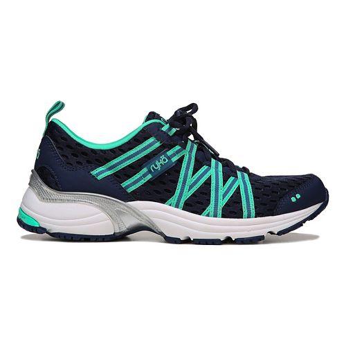 Womens Ryka Hydro Sport Running Shoe Dark Blue Teal 8