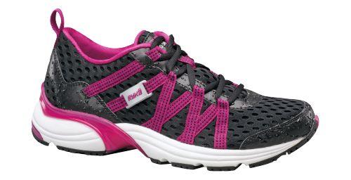 Womens Ryka Hydro Sport Running Shoe - Black/Berry 7