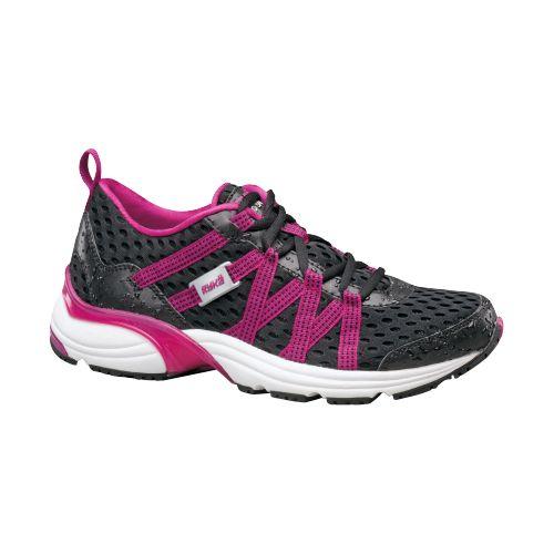 Womens Ryka Hydro Sport Running Shoe - Black/Berry 10.5