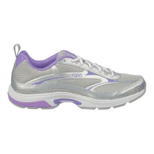 Womens Ryka Intent XT 2 Cross Training Shoe - Chrome Silver/Deep Lilac 10