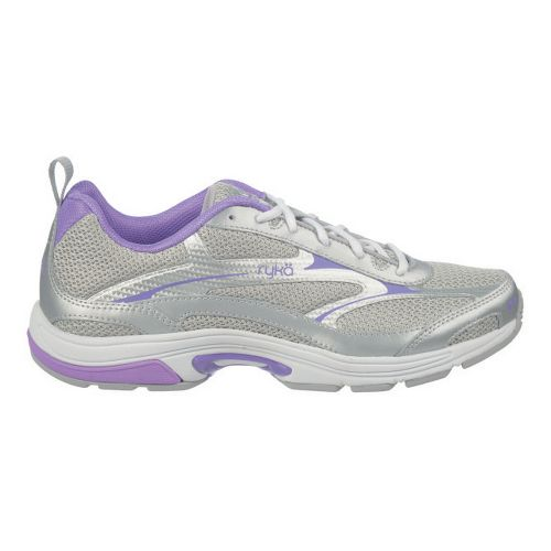 Womens Ryka Intent XT 2 Cross Training Shoe - Chrome Silver/Deep Lilac 10