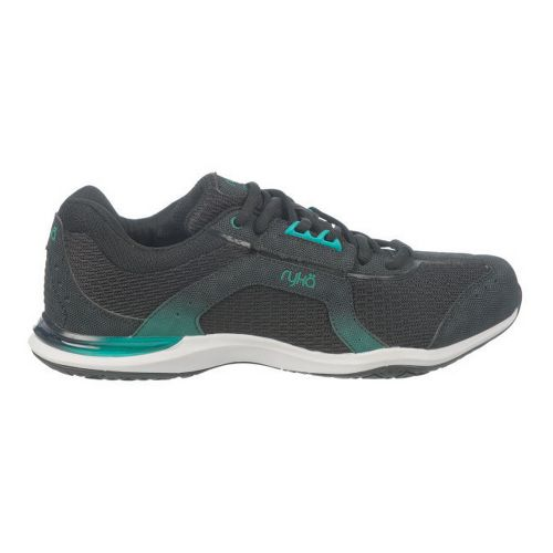 Womens Ryka Transition Cross Training Shoe - Black/Dynasty Green 10