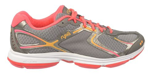 Womens Ryka Devotion Walking Shoe - Frost Grey/Steel Grey 7.5