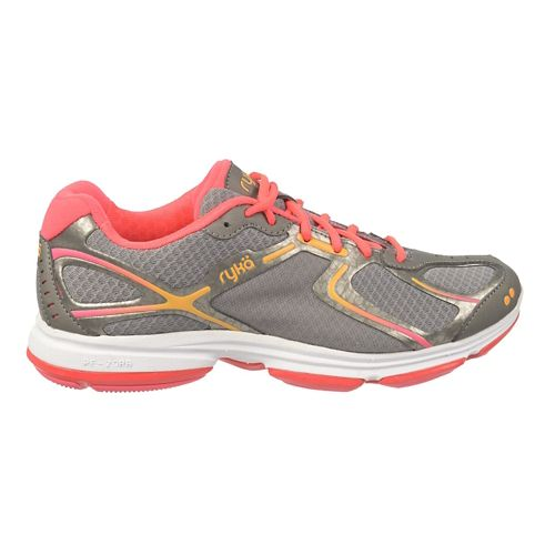 Womens Ryka Devotion Walking Shoe - Frost Grey/SteelGrey 10.5