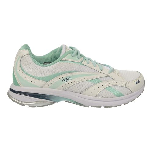 Womens Ryka Radiant Plus Walking Shoe - Plaster/Jet Ink 7.5