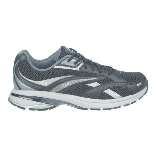 Womens Ryka Radiant Plus Walking Shoe - Black/Iron Grey 7