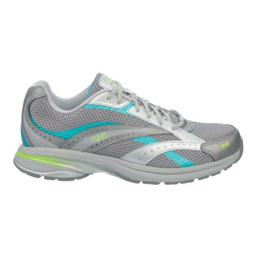 Womens Ryka Radiant Plus Walking Shoe - Chrome Silver/Steel Grey 9