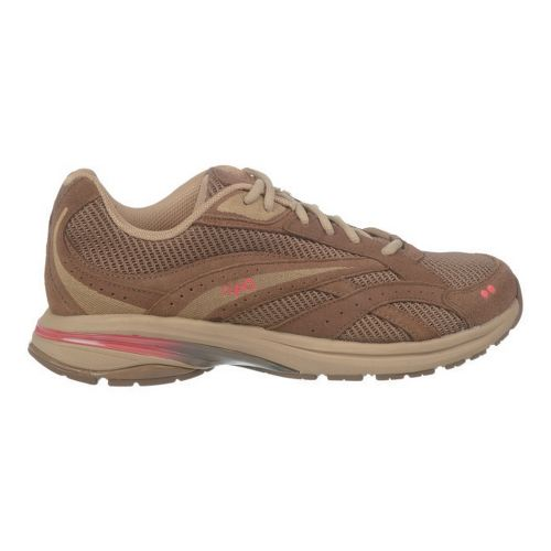 Womens Ryka Radiant Plus Walking Shoe - Shitake Brown/Chocolate Chip 10.5