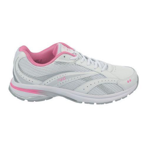 Womens Ryka Radiant Plus Walking Shoe - White/Pink Mystique 10
