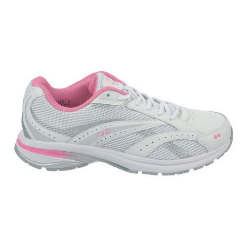 Womens Ryka Radiant Plus Walking Shoe - White/Pink Mystique 11