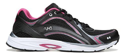 Womens Ryka Sky Walk Walking Shoe - Black/Pink 10.5
