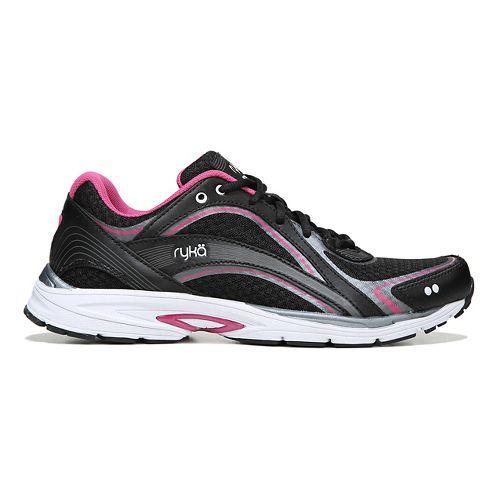 Womens Ryka Sky Walk Walking Shoe - Black/Pink 5.5