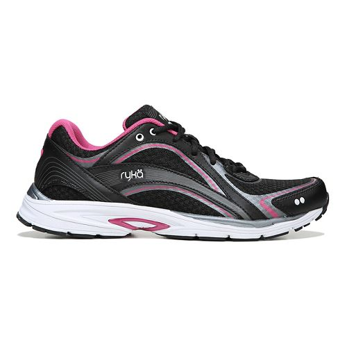 Womens Ryka Sky Walk Walking Shoe - Black/Pink 7.5