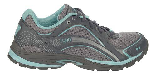 Womens Ryka Sky Walk Walking Shoe - Frost Grey/Aqua Sky 5.5